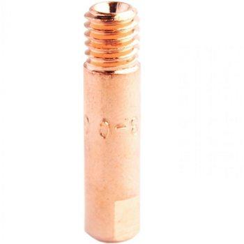 Наконечник токовый с резьбой М6 под проволоку d 0,9 мм