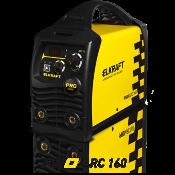 Сварочный инвертор ELKRAFT PRO ARC 160 (Z211S)