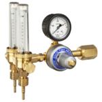 Регулятор расхода газа GASIQ TIGEX II AR/MIX 2X34 L/MIN 3/4-3/8