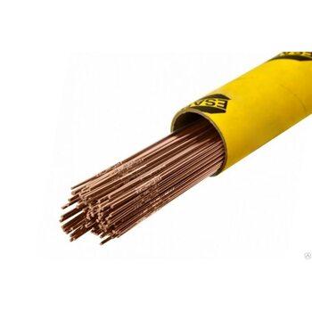 Прутки присадочные медные ESAB OK Tigrod 19.12 d 2.4мм