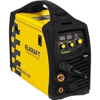 Сварочный полуавтомат ELKRAFT PRO MIG 200 Synergy (N229)