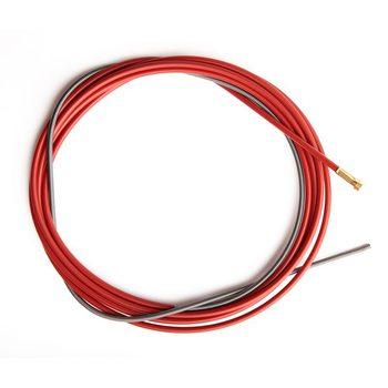Канал стальной 1,0-1,2 мм красный 3,5 м
