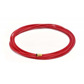 Канал тефлоновый d 1,0-1,2 мм красный 5,5 м
