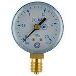 Манометр кислородный 2,5 МПа (давление в инструменте)