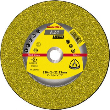 Круг отрезной по металлу 230х2.0х22 KLINGSPOR