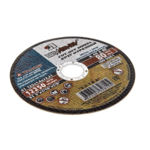 Круг отрезной ЛУГА-АБРАЗИВ по металлу и нержавеющей стали 125х2х22