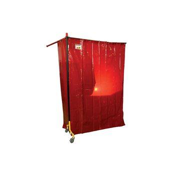 Штора защитная темно-красная ESAB 1400х1800